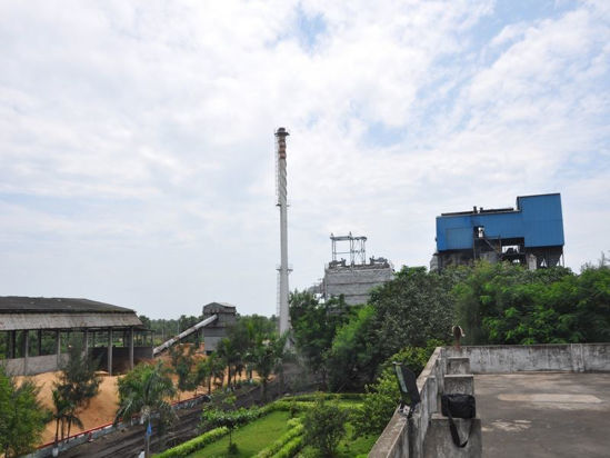 view of the Varam Power plant