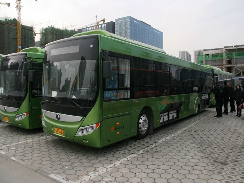 ecoBuses in Zhengzhou