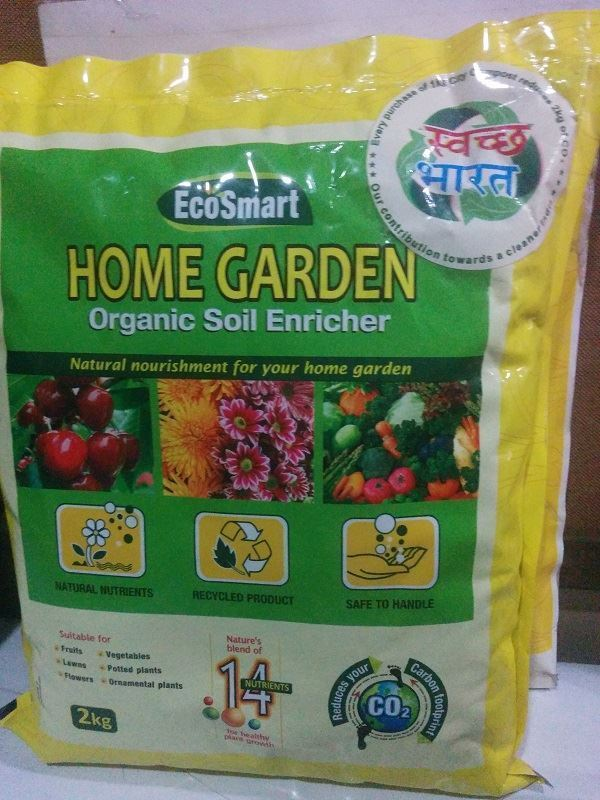 The product - Home Garden Organic Soil enricher