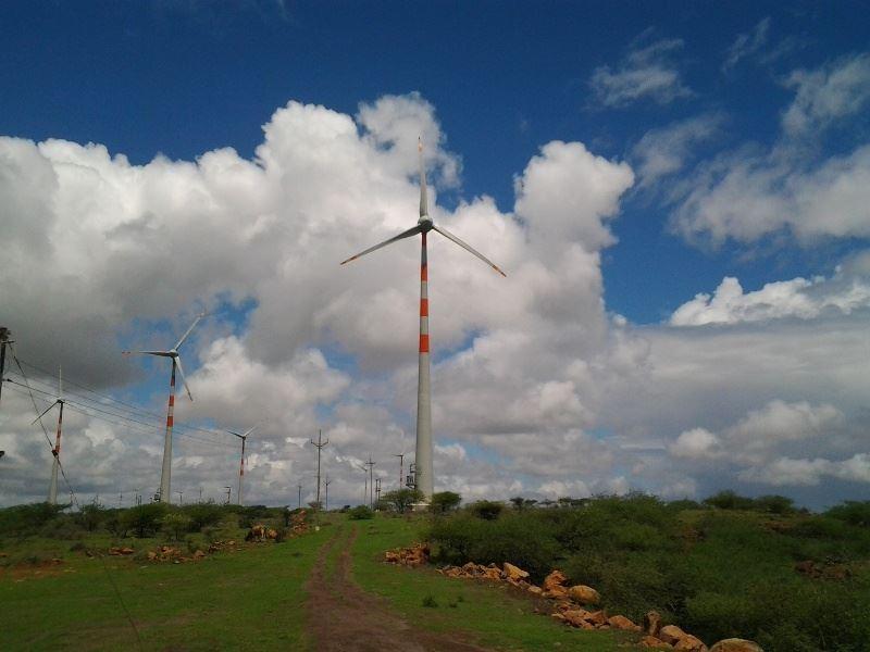 Wind Park 2 in Maharashtra, north landscape