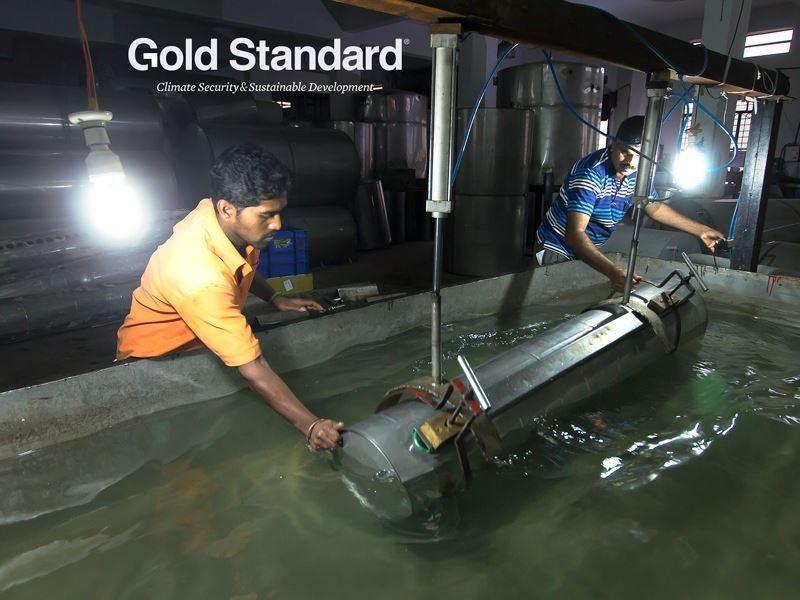Imagen de Programa de calentadores solares de agua en la India