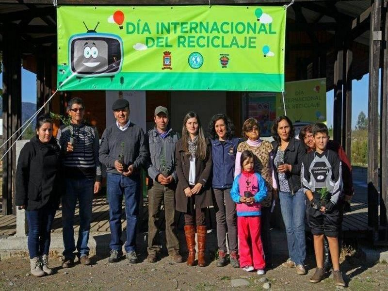 Recicling International day in the plant