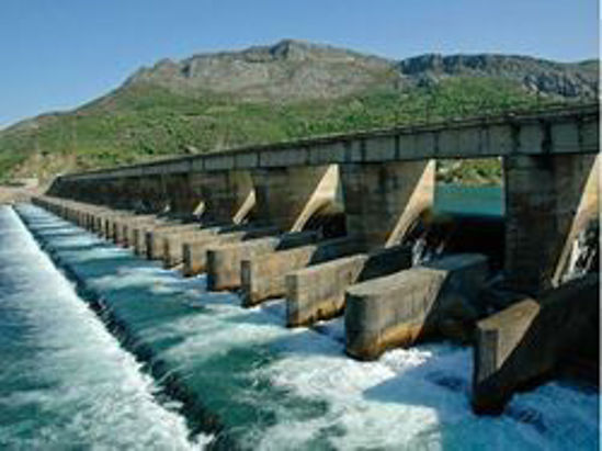 The dam in Maharashtra