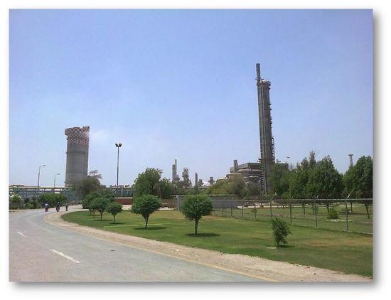NO2 abatement factory - the plant