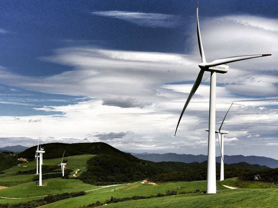 Wind Park in Gangwon