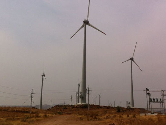 Imagen de Parque eólico de Lalpur en Gujarat