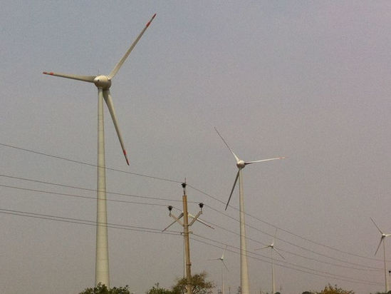 Image de Projet éolien au Madhya Pradesh, Inde