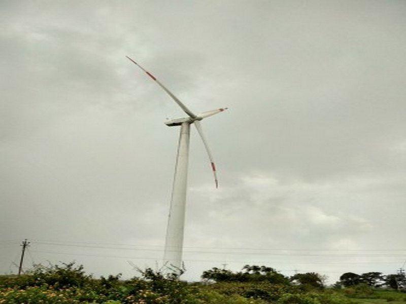 Wind turbine in Chitradurga