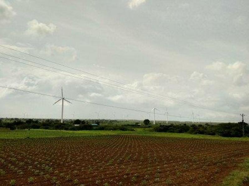 Wind turbine in Sangli