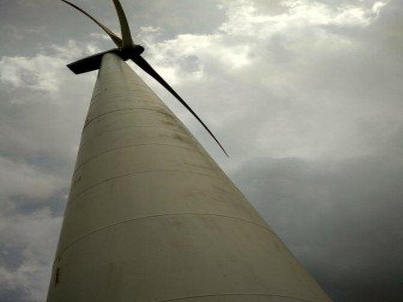 Wind turbine in Dhule