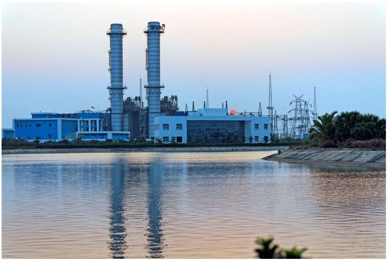 Picture of Natural Gas based grid connected power project at Peddapuram, A.P. by Gautami Power Limited