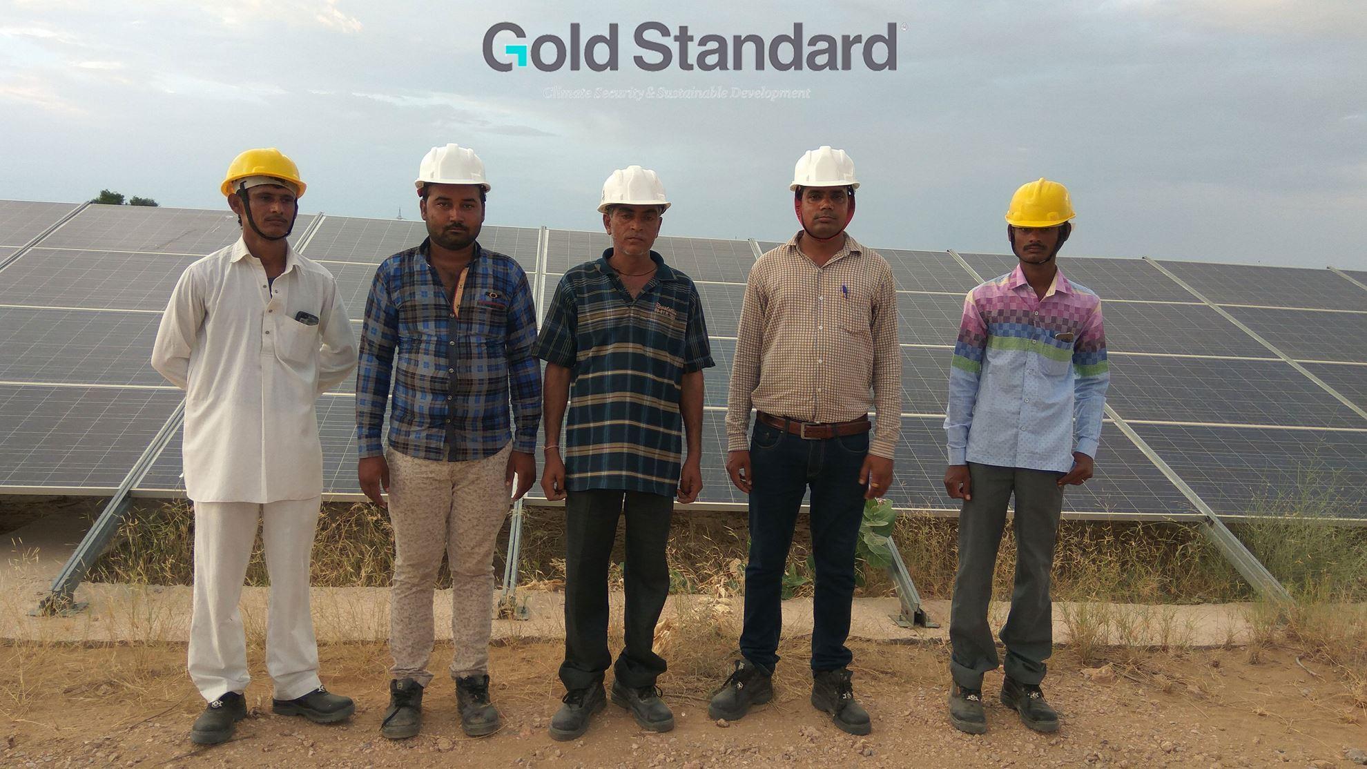 Imagen de Reducción de GEI mediante la generación de energía solar en Jaisalmer, Rajastán, India