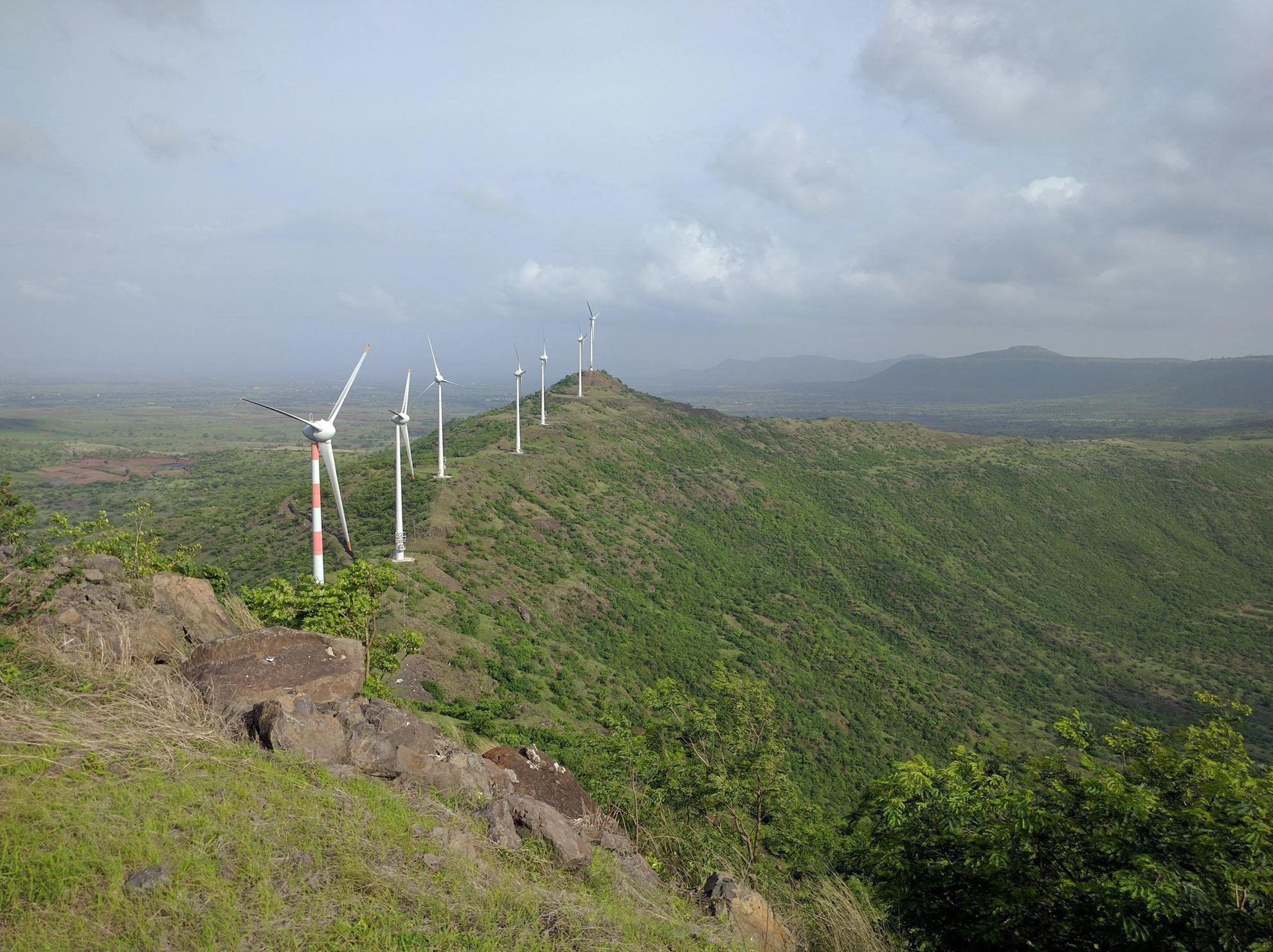 Imagen de Proyecto Eólico de Sahyadri Industries Limited