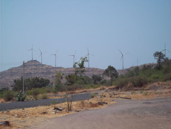 Picture of Electricity Generation using renewable wind energy by Sahyadri Industries Limited