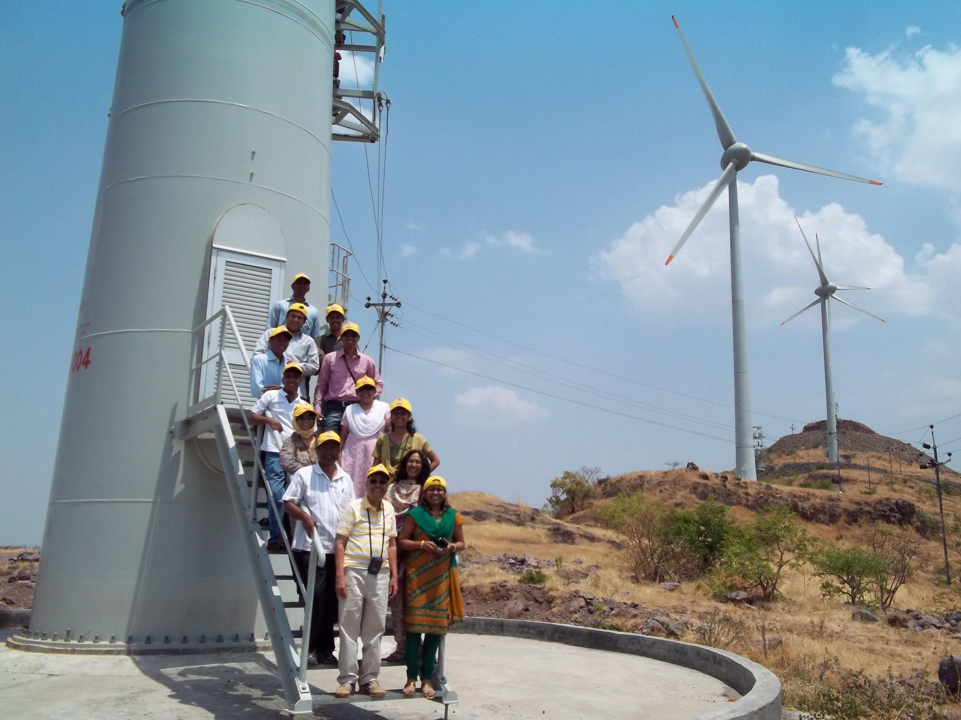 Image de Projet d'énergie éolienne groupé à Satara, Maharashtra