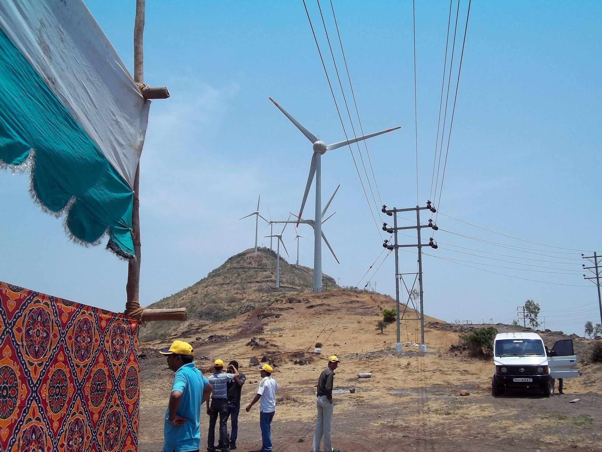 Picture of Bundled wind power project at Satara, Maharashtra