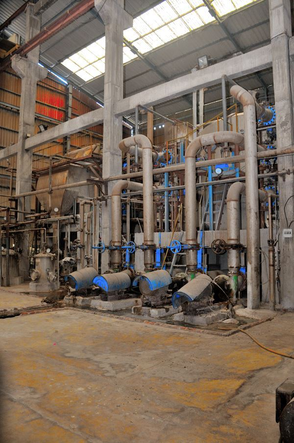 Picture of 2.5 MW Rice husk based cogeneration plant at Hanuman Agro Industries Limited
