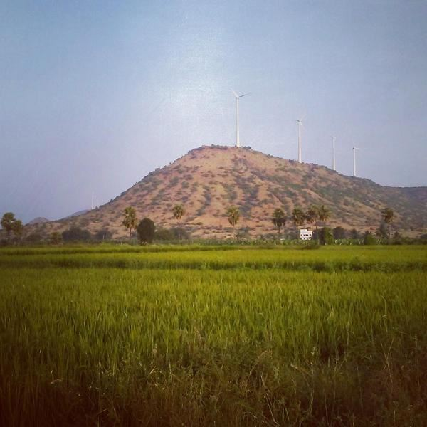 Picture of Wind Power Project by EON Electric limited in Rajasthan