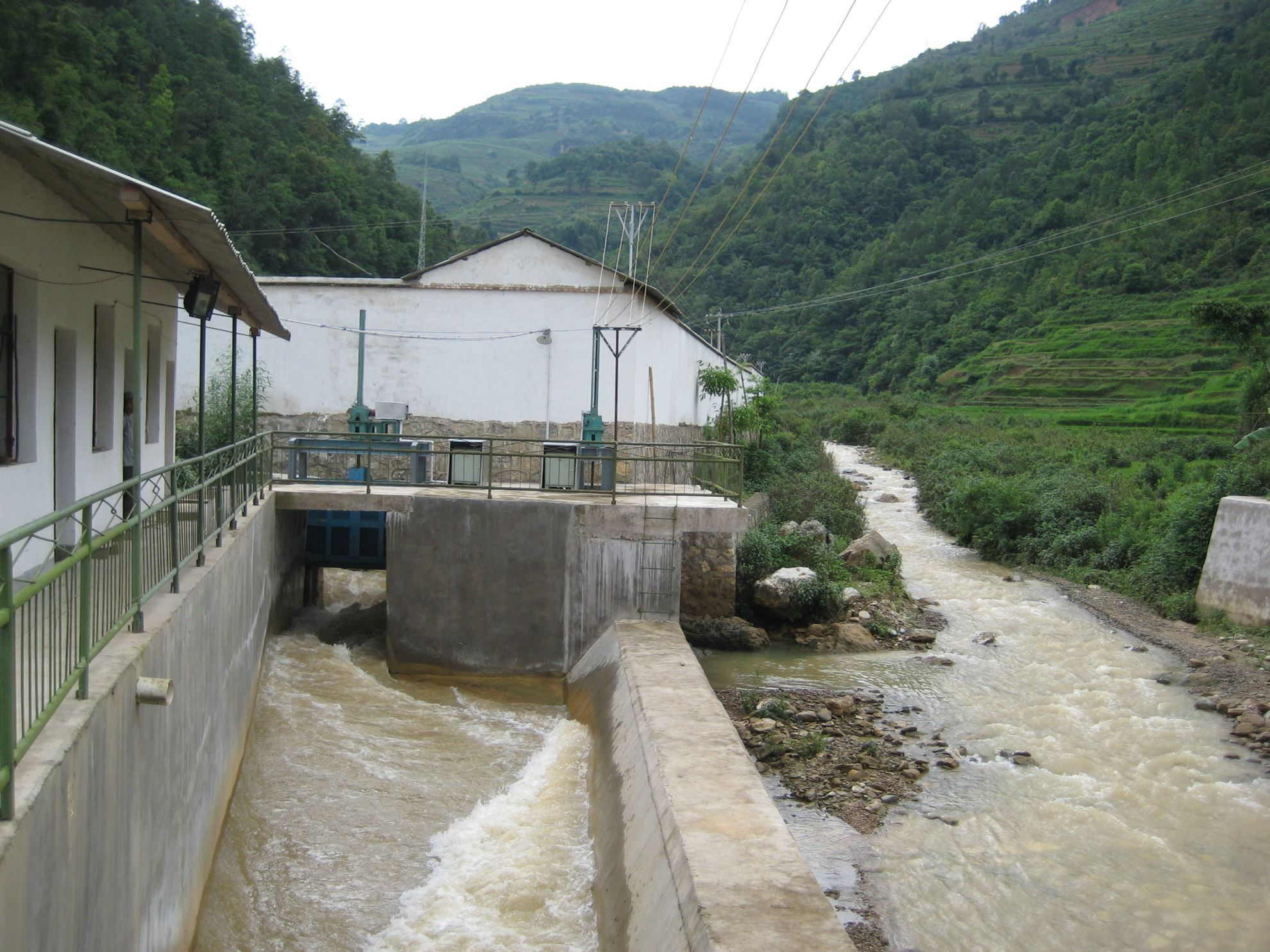 Picture of Sichuan Miyaluo Hydroelectric Station