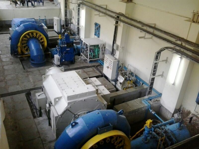 Picture of Badyar Hydro (4.90 MW) Plant at Uttarakhand