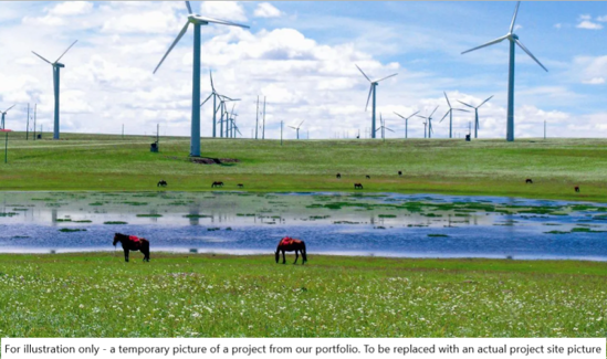 Image de Projet de parc éolien Wulatehouqi Wuliji de 49,5 MW dans le nord de Longyuan